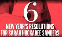 Six New Years Resolutions for Sarah Huckabee Sanders
