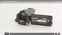 Review Panasonic HC-W850K Twin Camera Full HD Camcorder