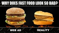 Why does fast food look so ugly?