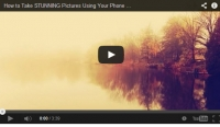 Video tips - taking great photos with your SmartPhone