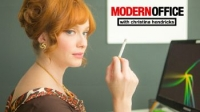 Modern Office with Christina Hendricks
