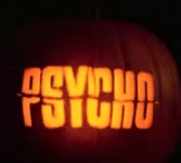"Watch the Pyscho Movie on a Pumpkin - ""Psych-o-Lantern"""