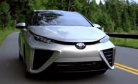 Video of Toyota's new Fuel Cell Car - the Mirai