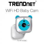 TRENDnet Ships WiFi HD Baby Cam