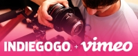 Indiegogo and Vimeo Partner to Support Film Makers