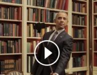 Obama goes selfie for Healthcare.gov