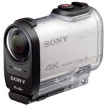 Check out the new Sony FDR-X1000V 4K Action Cam
