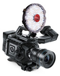Rotolight NEO is a revolutionary on-camera or location LED lighting fixture