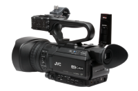New JVC Pro sports camcorder includes built in score overlay