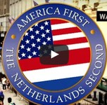 The Netherlands welcomes Trump using his own words