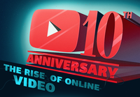 The History of Internet Video infographic